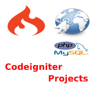 codeigniter project tutorial for beginners with source code
