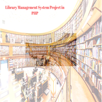 Library Management System Project in php free Download